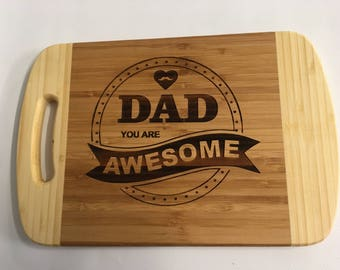 BBQ board, Cheese board, Bar board, Father's Day gift, for your awesome Dad.