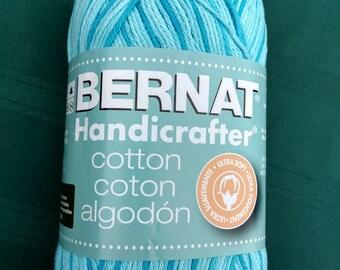 Bernat Handicrafter Yarn - Swimming Pool Blue