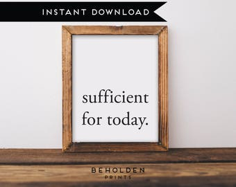 Digital Download, Grace is sufficient, Scripture Printable, Dorm Wall Art, Bible Verse Wall Art, Christian Printable, Dorm Decor, Scripture