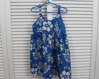 Vintage Girls Dress, Child Hawaiian Size Aloha Republic