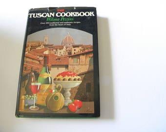 1978 The Tuscan Cookbook Wilma Pezzini HCDJ 1st edition 1st printing RARE OOP