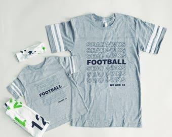 SEAHAWKS FOOTBALL Unisex Football Tee