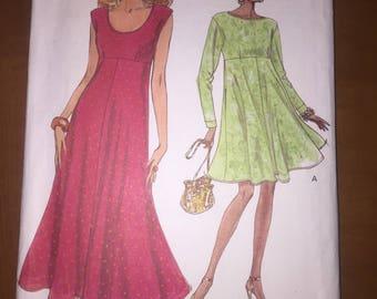 Vogue Sewing Pattern 8316 Misses Dress Size 12-16
