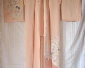 Vintage SILK Kimono#47