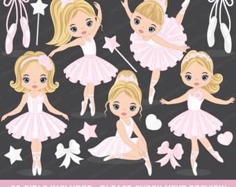 Ballerina Clipart - Vector Ballerina Clipart, Ballet Clipart, Ballerina Clipart, Tutu Ballerina Clipart, Ballerina Clip Art