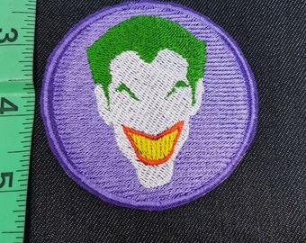 DC Joker Suicide Squad Iron/Sew on Patch