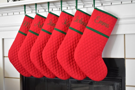 like this item - Red And Green Christmas Stockings
