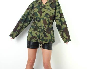 Military Jacket / Army Jacket / Camouflage Jacket / Camo Jacket / Military Blazer / Army Blazer / Camo Blazer / Man Army Blazer / Camo Top