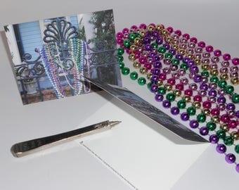 Beaded Gate Notecard - One Card