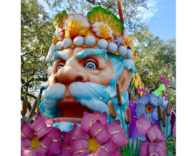 Father Mississippi  Mardi Gras  Float Photograph