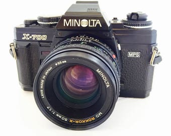 Minolta X-700 MPS w/50mm f1.7