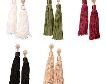 Victoria Tassel Earrings