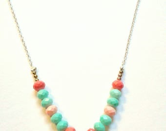 Sunset - Necklace for Girls with a Magnetic Clasp