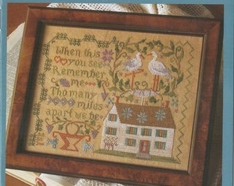 KIT - Blessings & Kind Wishes by Blackbird Designs - Loose Feathers Club #31 - OOP Kitted Cross Stitch Pattern