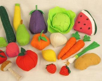 Kids Felt Fruit