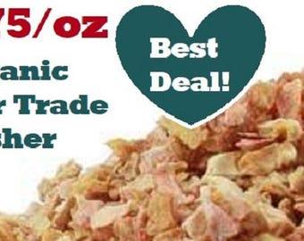 Organic LEMON PEEL - 1 oz - Citrus x limon, bulk herb by the ounce, fair trade, kosher, non-GMO