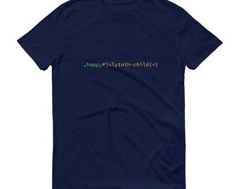 CSS 4th of July Mens Short-Sleeve T-Shirt