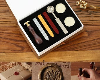 Wax Seals Stamp - Sealing Wax Seal - Capital Alphabet  Stamp - Letter Envelope Seal