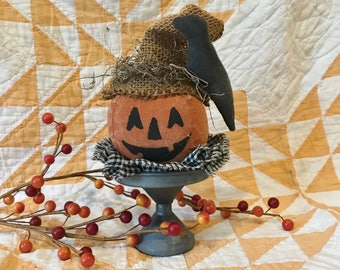 Primitive Pumpkin Head Make-Do