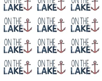 On the Lake: Lake/Boating Stickers || Planner Stickers