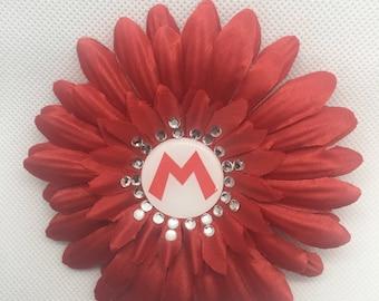Nintendo Super Mario Hat Flower Hair Clip