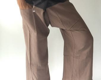 2T0012 Thai fisherman/Yoga are pants Free-size: Will fit men or woman