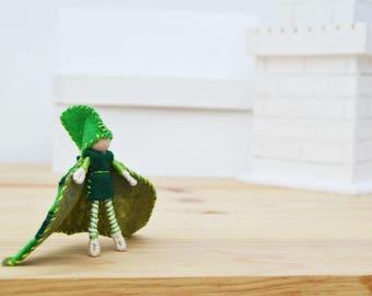 Boy Fairy Doll - boy fairies, felt fairy doll, felt fairies, waldorf fairy doll, waldorf fairies, OOAK fairy doll, waldorf boy doll