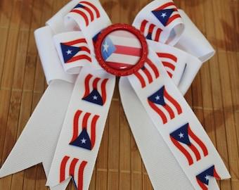 Puerto Rico Hair clip