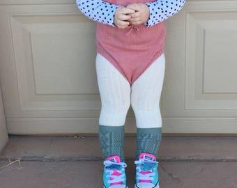 Baby knee socks, toddler knee socks, baby socks, toddler socks, knee high baby socks, knee high toddler socks, girl socks, knee highs, socks