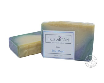 Bay Rum scented Cold Process Soap