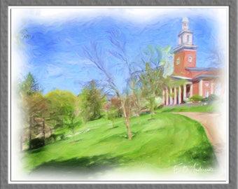 Universities Canvas Art