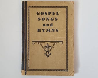Hymnal 1944 Gospel Songs and Hymns