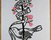 MEMENTO VIVERE - ROSES (Remember To Live)