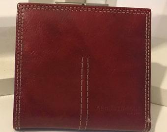 Vintage Keneth Cole  Billfold Wallet  Read