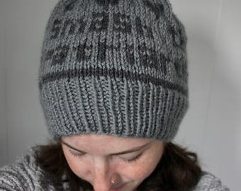Smash the Patriarchy Knit Hat