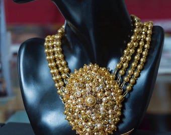 Caviar Cluster Necklace Sample Sale