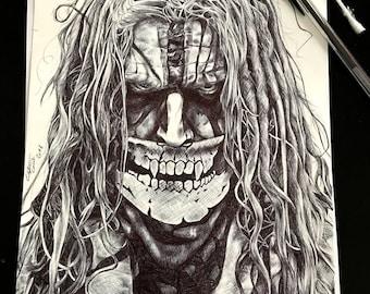 Rob Zombie - Original Drawing