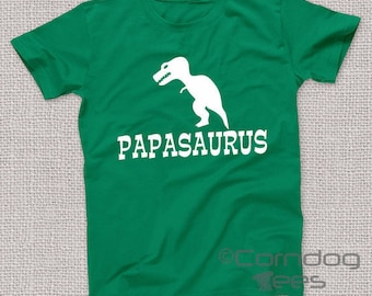 Papa Gifts, Papa Tshirt, Father's Day Gift, Papasaurus, Dad Gift Uncle Gift Grandpa Gift Grandfather gift Husband Gift Brother Gift