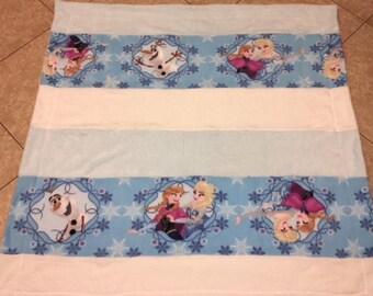 Frozen fleece blanket