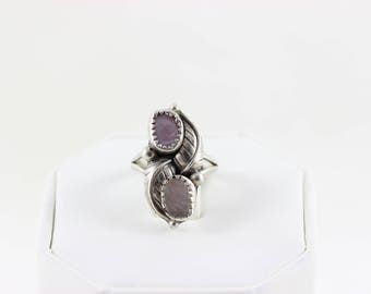 Sterling Silver Mother of Pearl Ring size 4 1/2
