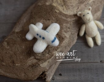 Felted  Airplane