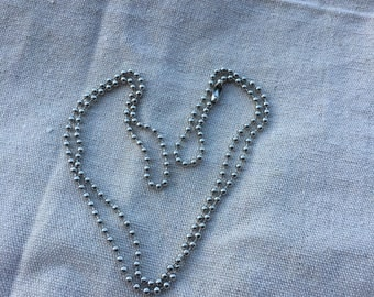 Ball Chain Necklace 24 Inches