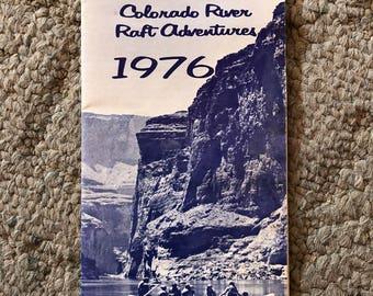 Grand Canyon River Rafting Brochure 1976