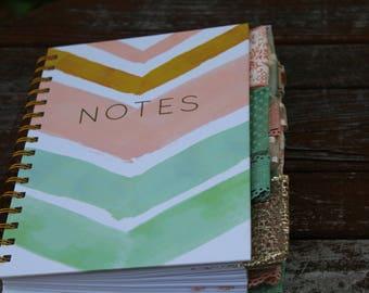 Notes Spiral-Bound Altered Journal