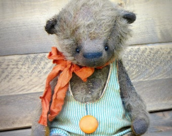 Antique style Teddy Bear-Artist Teddy Bear-Traditional Teddy Bear-Handmade Teddy Bear-Old Style Teddy Bear