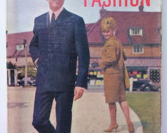 ABC of Men's Fashion by Hardy Amies 1960s vintage book