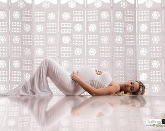 Clover Dress l Strapless + Sweetheart Top l Maternity Gown l Maternity Dress l Maternity Photoshoot