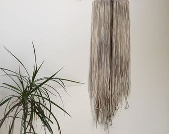 Shadow Layer Frond  011 Wool Wall Hanging