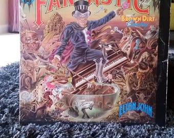 Elton John / Captain Fantastic and the Brown Dirt Cowboy Vinyl LP
