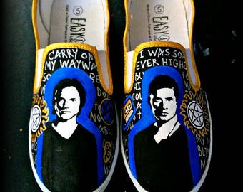 Supernatural Hand-Painted Shoes